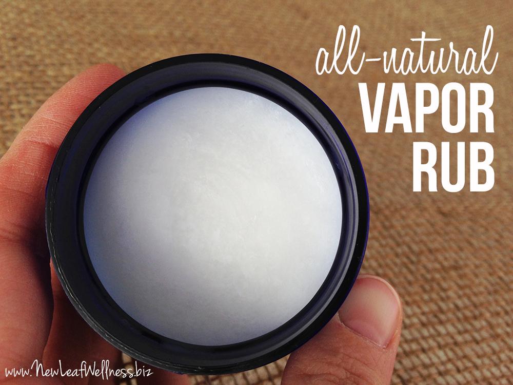 All Natural Vapor Rub