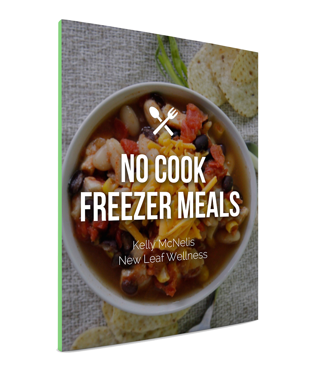 No Cook Freezer Meals by Kelly McNelis