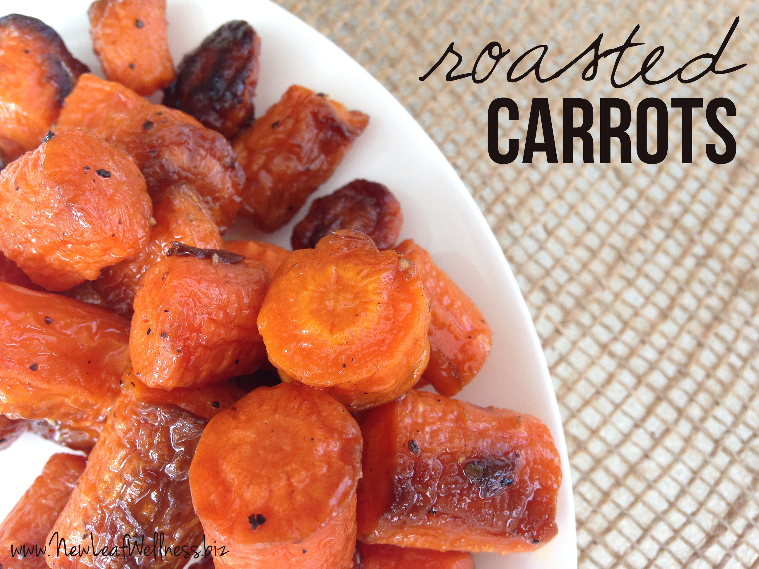 Recipe for Roasted Carrots
