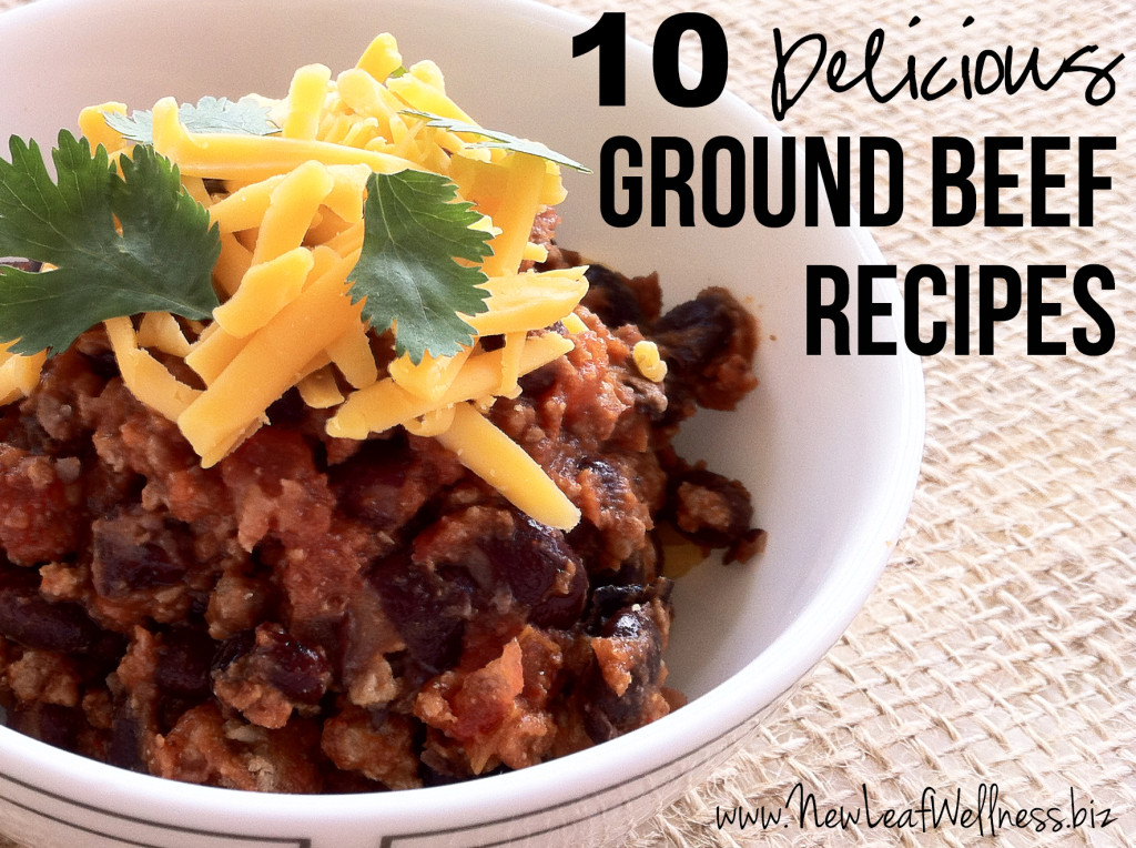 Ten Delicious Ground Beef Recipes