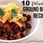 Ten ways to use ground beef