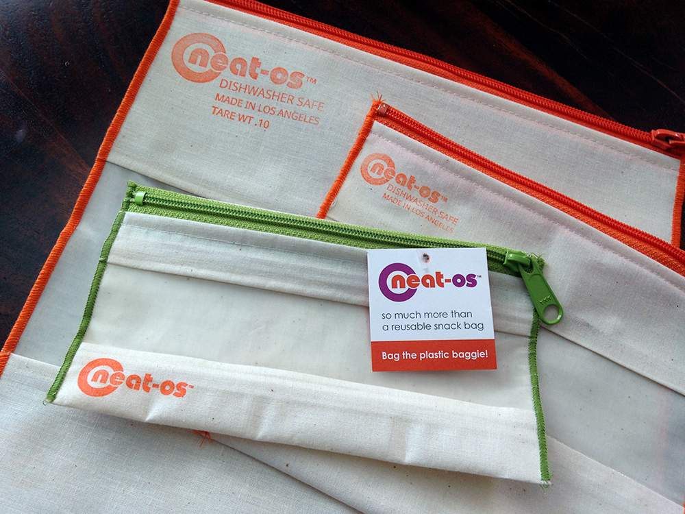 A review of neat-os reusable plastic food bags