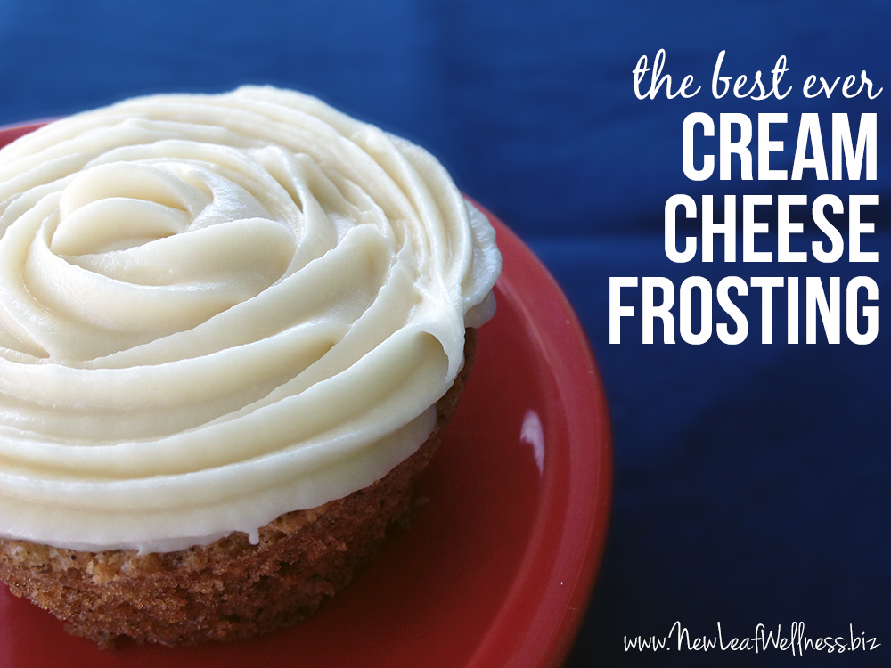 Cream cheese frosting recipe – New Leaf Wellness