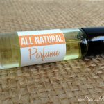 All natural homemade perfume with essential oils