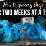 Meal plan for two weeks and only grocery shop once