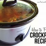 How to freeze a crockpot recipe in three easy steps