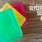 Make your own glycerin soap GIVEAWAY