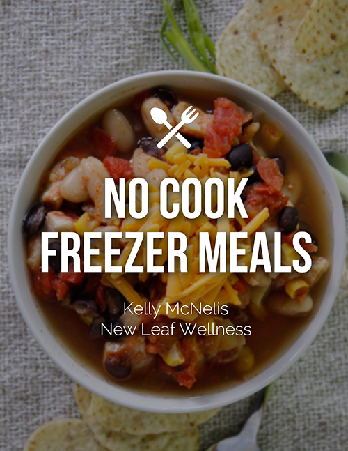 No Cook Freezer Meals Cookbook Giveaway