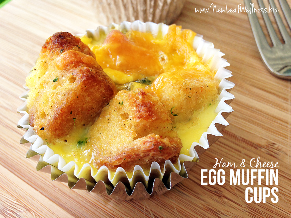 Ham and Cheese Egg Muffin Cups