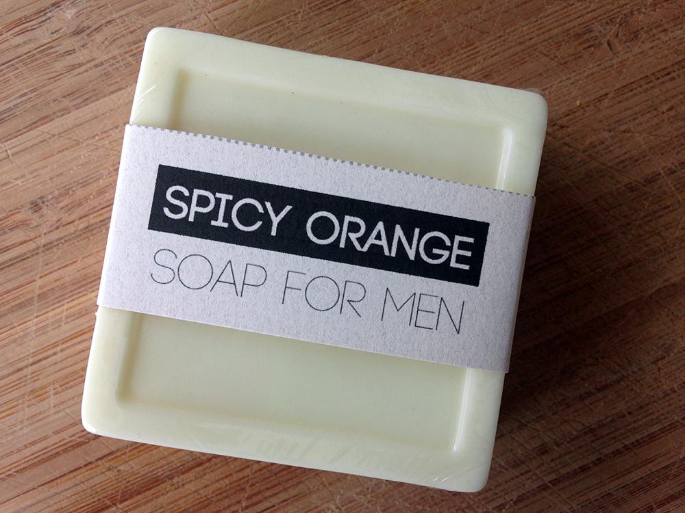 Homemade soap for men