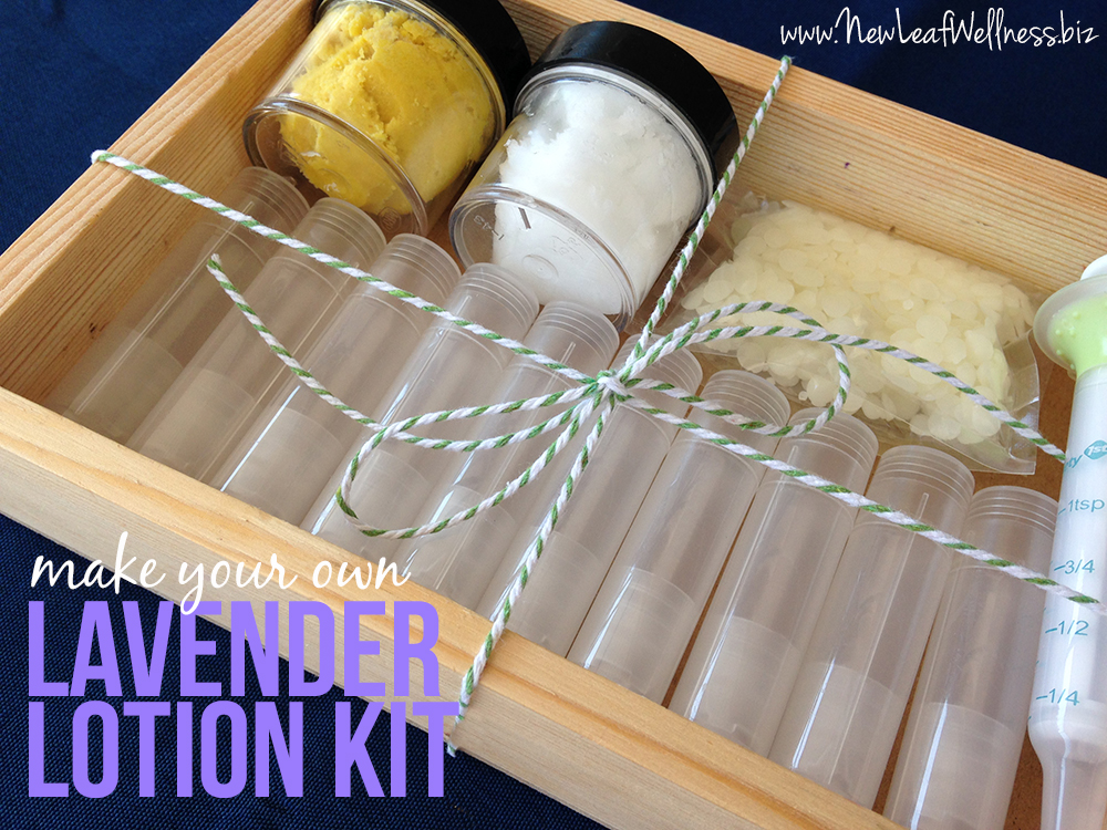 Make your own lavender lotion kit giveaway