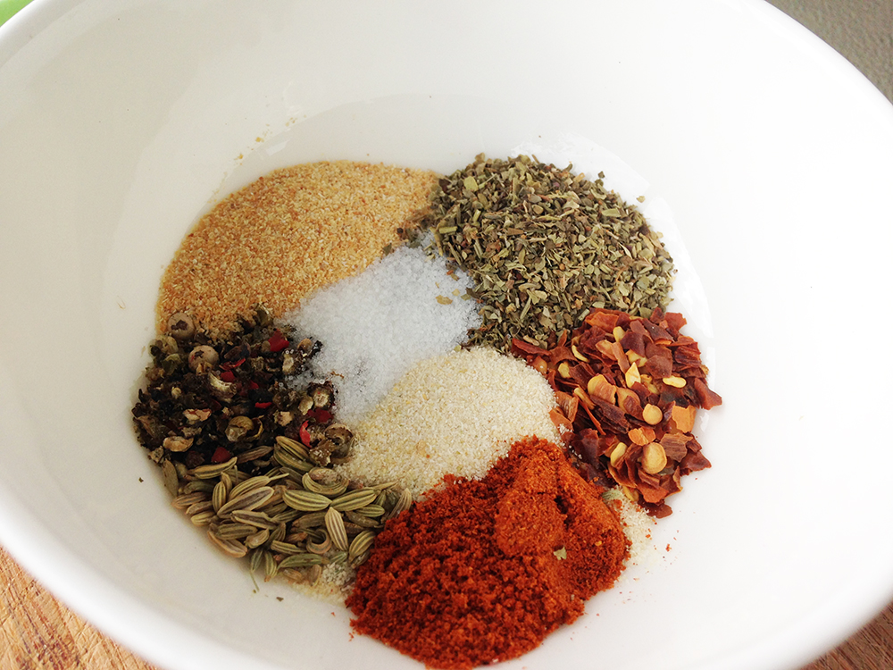 how to use dried spices