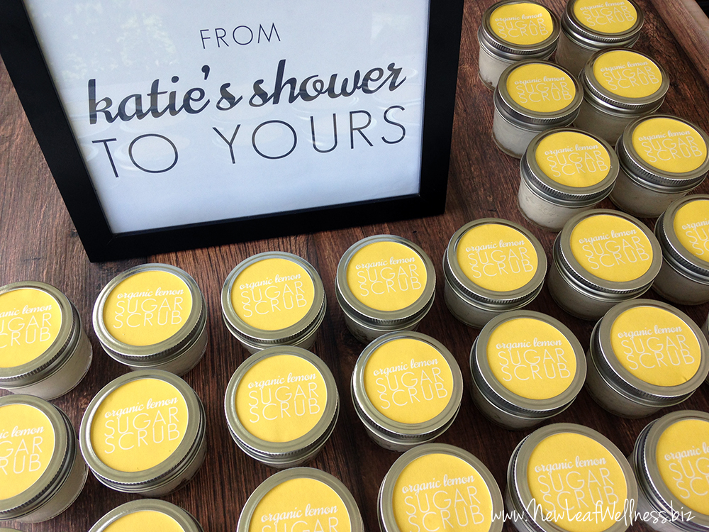 How To Make Sugar Scrubs As Shower Favors Or Gifts New