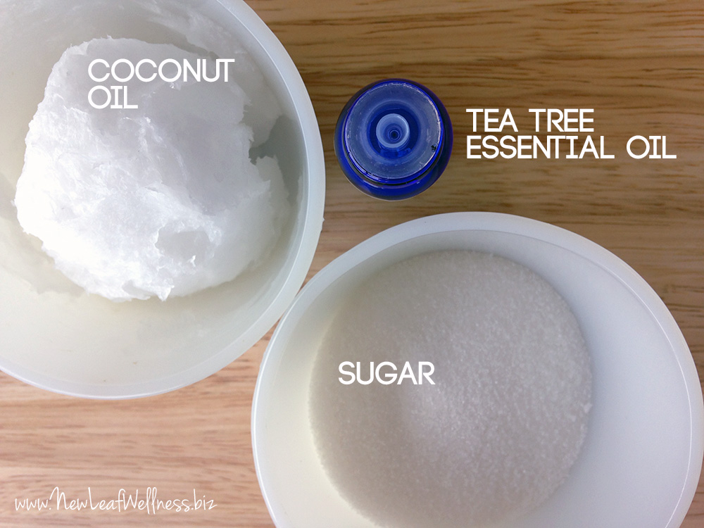 tea tree sugar scrub ingredients