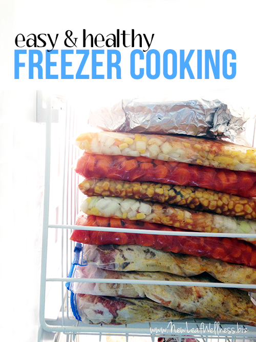 How to fit freezer cooking into a busy schedule