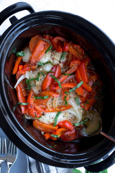 Crockpot Red Pepper Chicken Recipe
