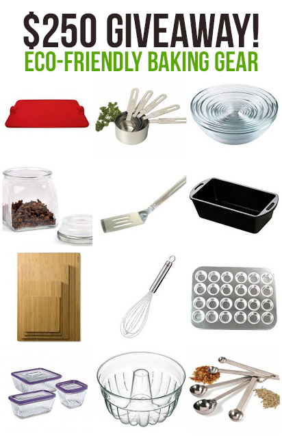 Win $250 in Eco Friendly Baking Gear from MightyNest