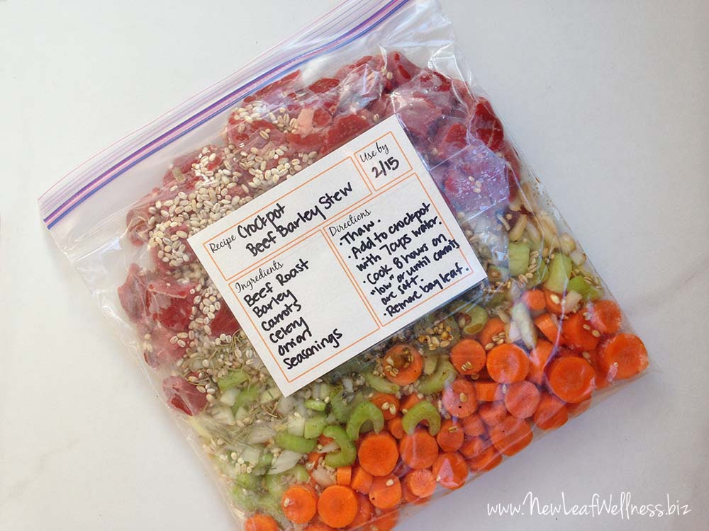 "How to freeze six healthy ""comfort foods"" in 40 minutes"