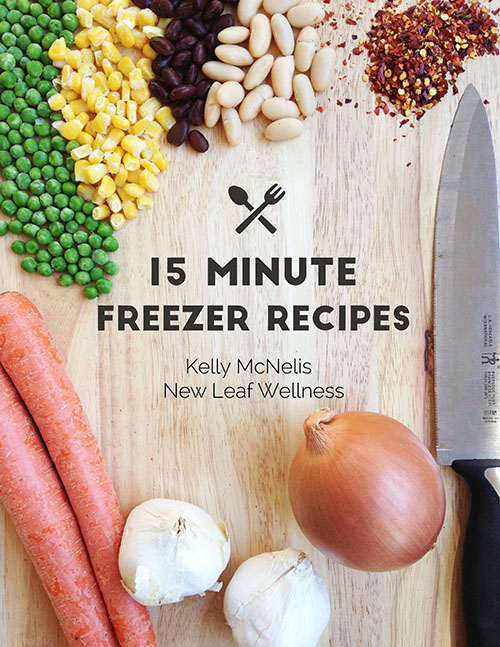 15 Minute Freezer Recipes