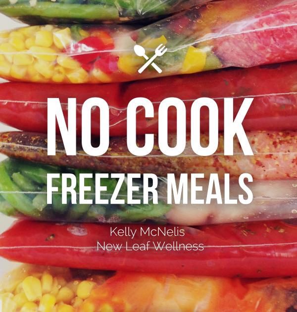No Cook Freezer Meals eBook