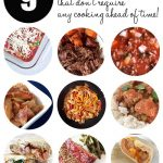 Nine freezer meals that don't require any cooking ahead of time