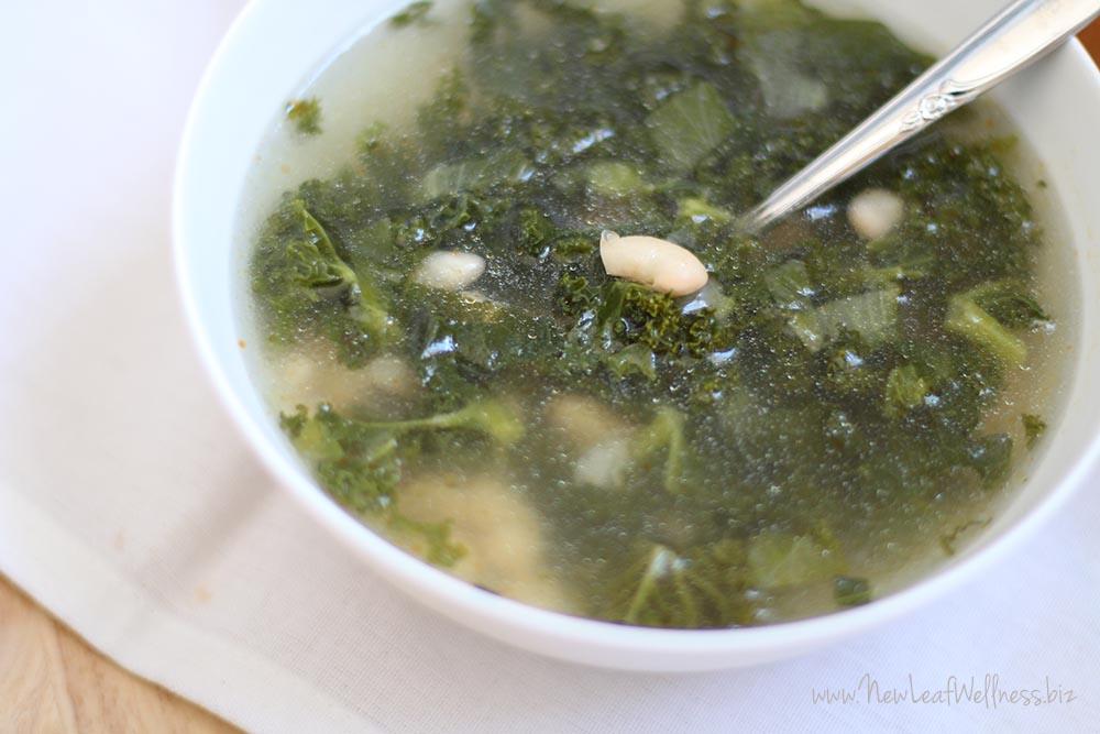 Crockpot Greens & Beans