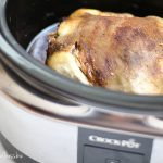 How to cook a whole chicken in the crockpot