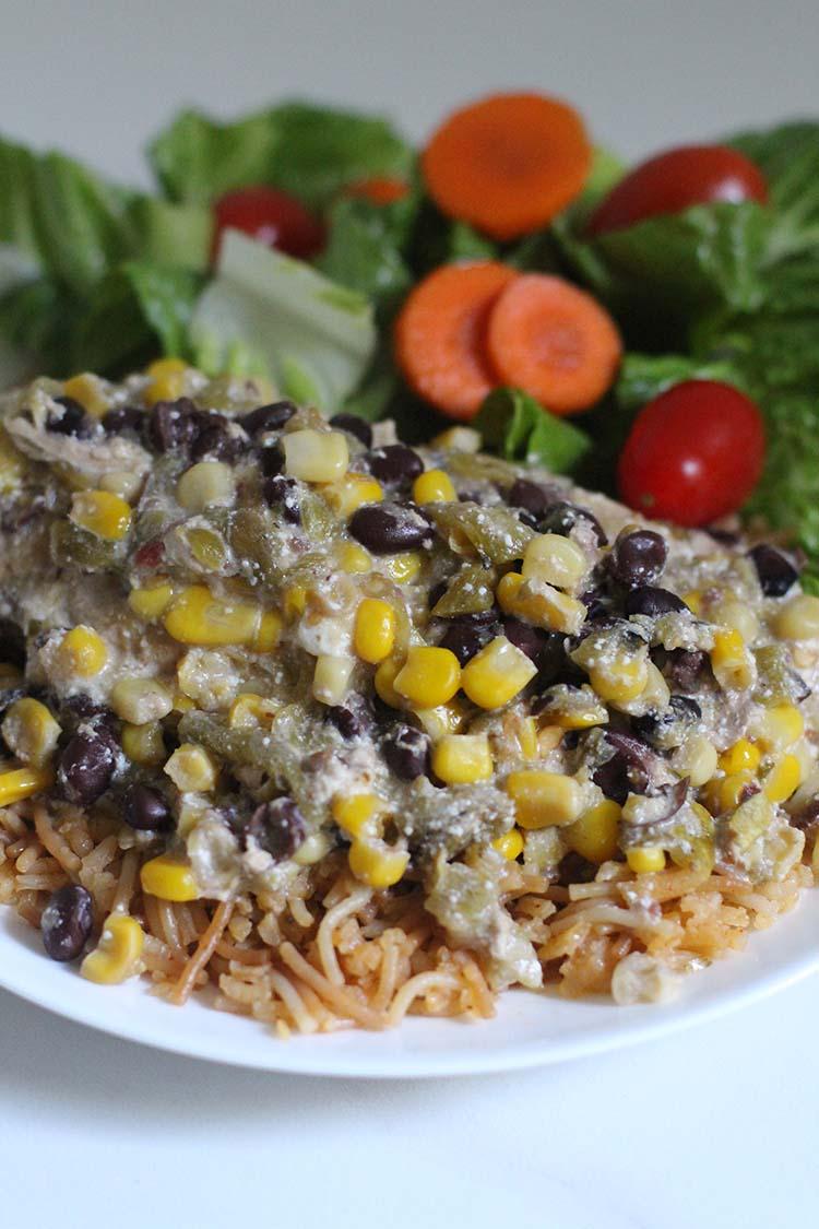 Crockpot Salsa Verde Chicken Recipe