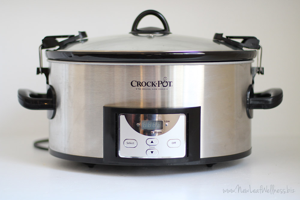 my favorite crock pot 6 quart programmable cooker new leaf wellness