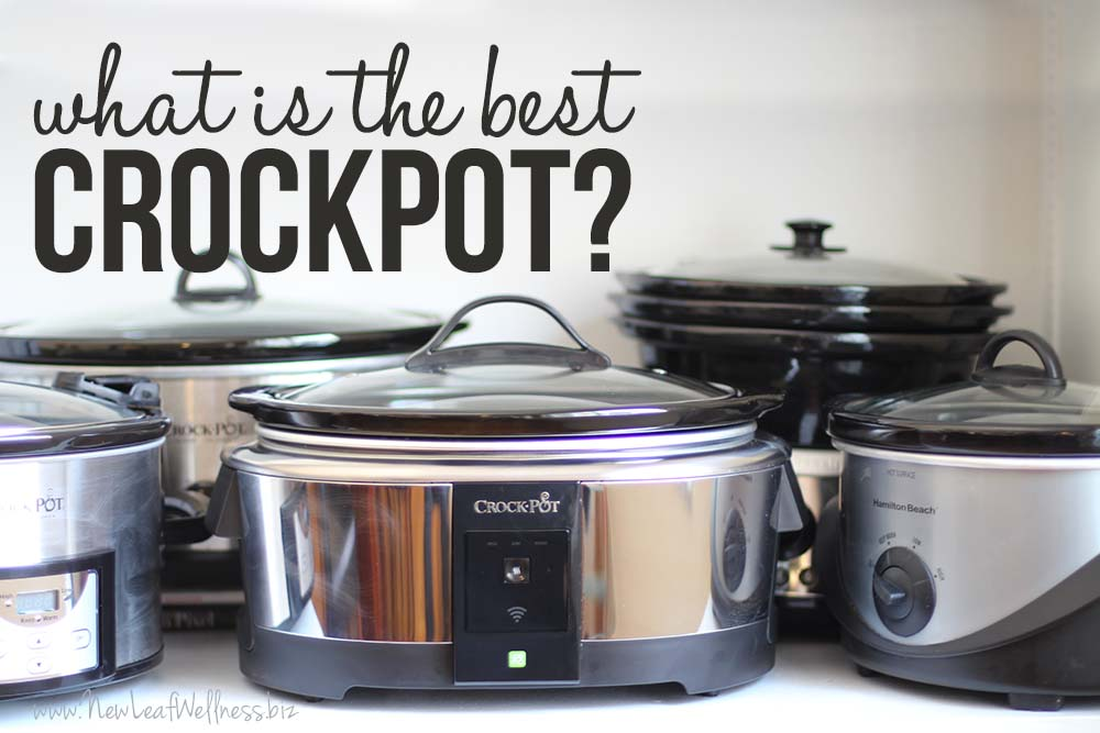 What Is The Best Crockpot A Review Of Five Slow Cookers