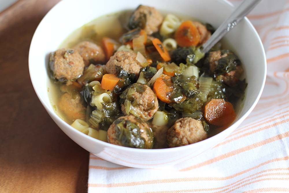 Freezer-to-Slow Cooker Italian Wedding Soup