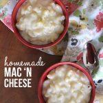 The best homemade mac 'n cheese