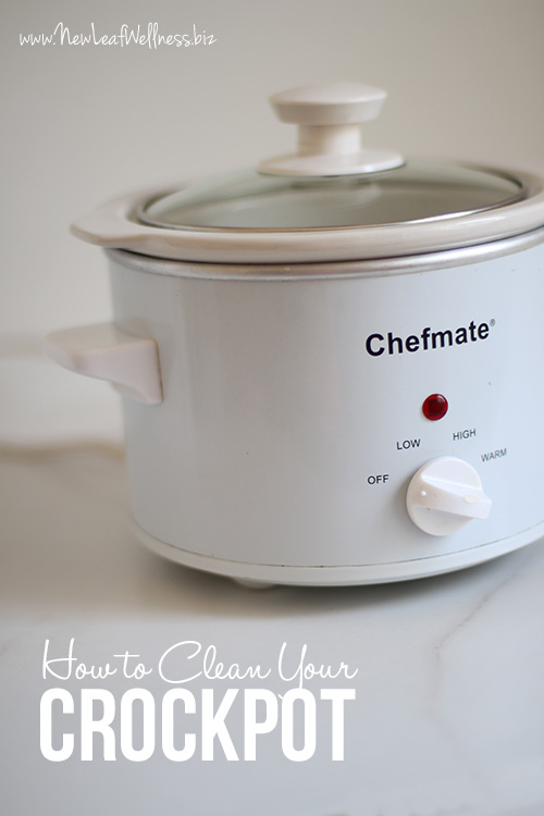 How to Clean Your Crockpot