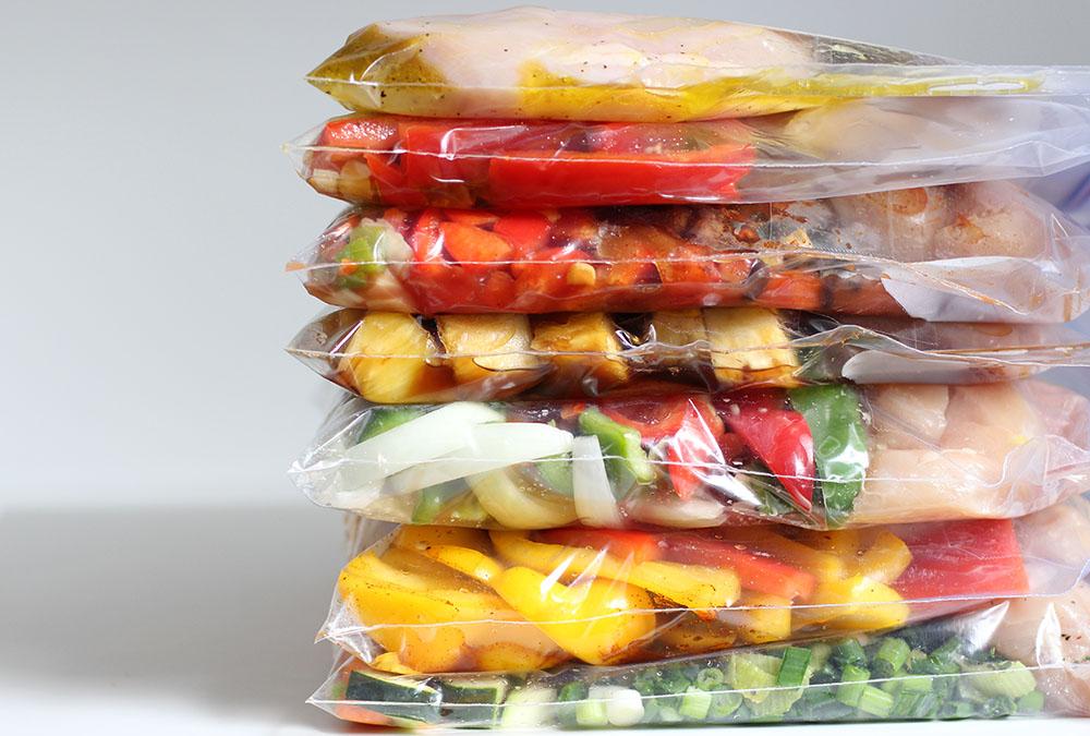 Make 7 Healthy Chicken Crockpot Freezer Meals In Under An Hour!