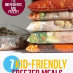 Seven Kid-Friendly Freezer Meals in 85 Minutes