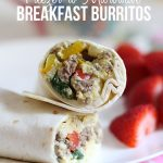 Freezer-to-microwave breakfast burritos