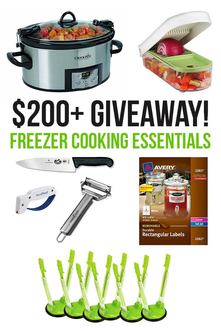 The Ultimate Freezer Cooking Giveaway