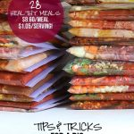 28 slow cooker freezer meals in 3 hours (and my 7 best tips for a freezer prep day)