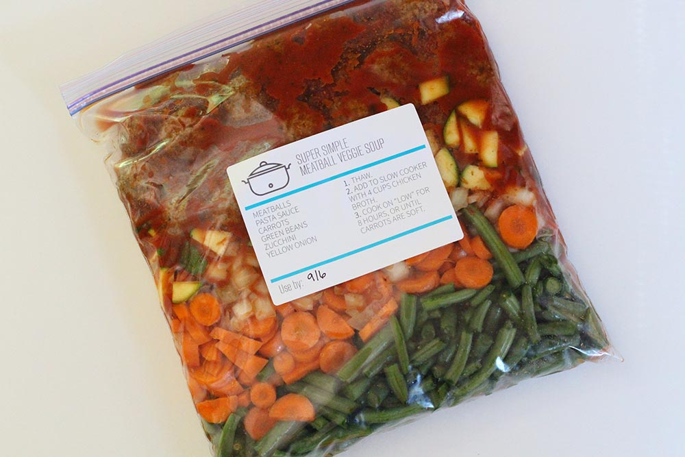 10 Easy Ways to Save Money with Slow Cooker Freezer Meals