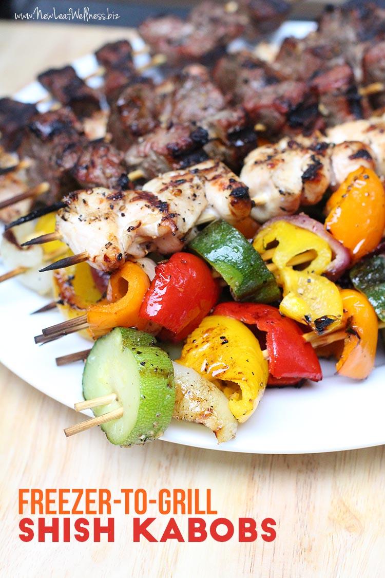 How to soak a shish kebab correctly