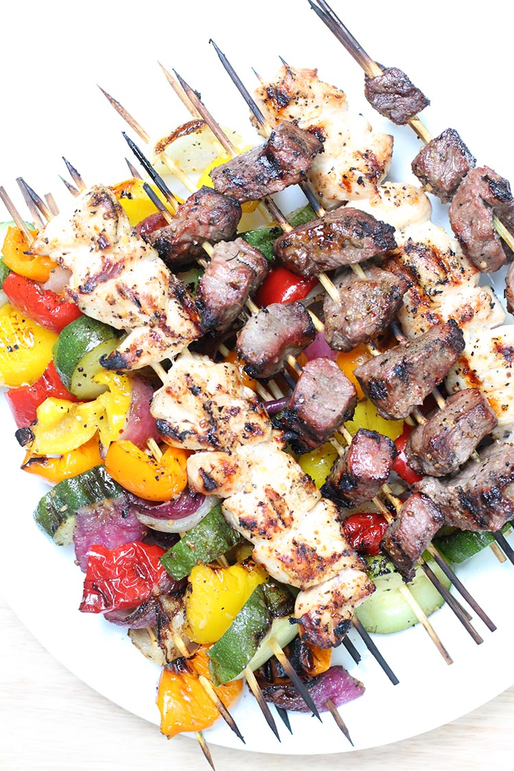 Freezer-to-Grill Shish Kabobs