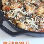 Freezer-to-Skillet Gnocchi and Swiss Chard