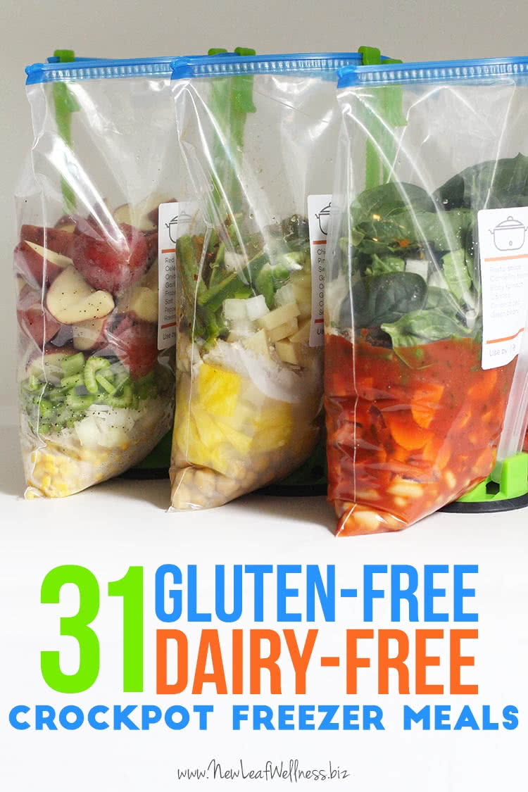 Easy dairy and gluten free recipes