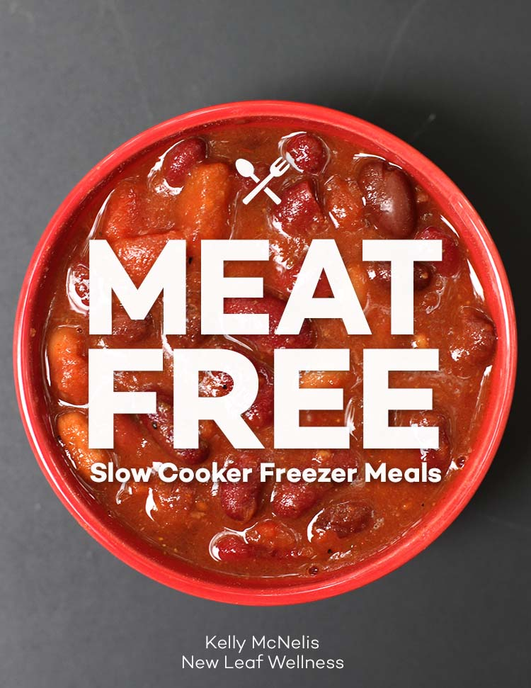 Meat Free Slow Cooker Freezer Meals eCookbook