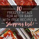 Pre-Baby Freezer Meals – Part Two