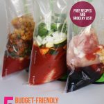 5 Budget-Friendly Freezer Crockpot Meals