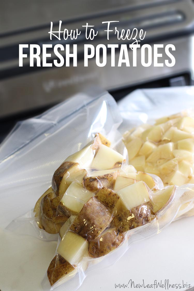How to Freeze Fresh Potatoes