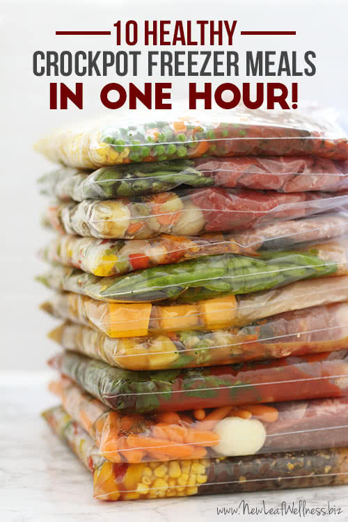 "I'm joining the freezer cooking ""sensation"" and filling my freezer with crock pot meals! Lucky for you I'm sharing what I did and how I made 34 meals (many with enough leftovers for diner the following day) in one afternoon for only $"
