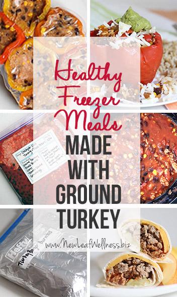 5 Healthy Freezer Meals Made With Ground Turkey
