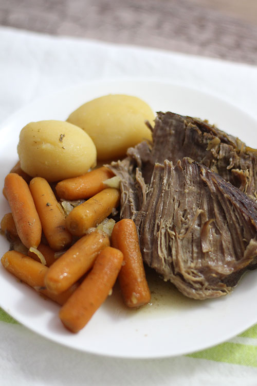 5-Ingredient Crockpot Pot Roast